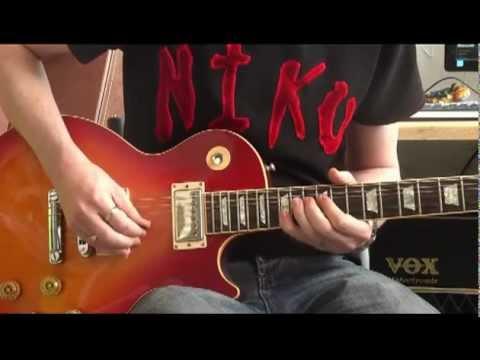Slash Lesson – Sweet Child O' Mine (solo slow guitar video lesson)