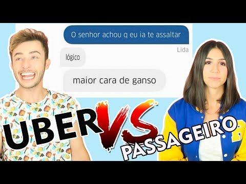 CONVERSAS MAIS ENGRAÇADAS ENTRE UBER E PASSAGEIRO ft Foquinha | Maicon Tudo