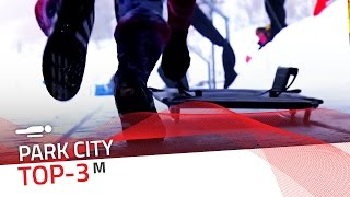 Park City | Men's Skeleton Top-3 | IBSF Official