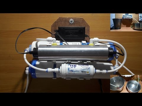 Homemade UV + UF (4 stage) water purifier for tap water- very effective & cheap