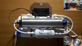 Homemade UV + UF (4 stage) water purifier for tap water- very effective & cheap(This is video tutorial to make very effective & cheap 4 stage water purification system to purify municipal water (tap water). You can also add pre- filter as 5th ..., 2016-09-12T10:40:27.000Z)