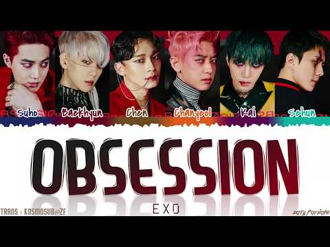 EXO (엑소) - 'OBSESSION' Lyrics [Color Coded_Han_Rom_Eng]