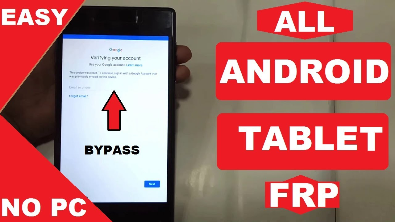 Android Tablet Google Account Verification Frp Bypass (7 0/7 1)  #AndroidUnlock by Android Unlock