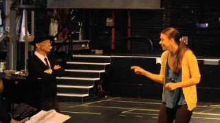"In Rehearsal: ""Anything Goes"" Stars Sutton Foster and Joel Grey Sing ""Friendship"""