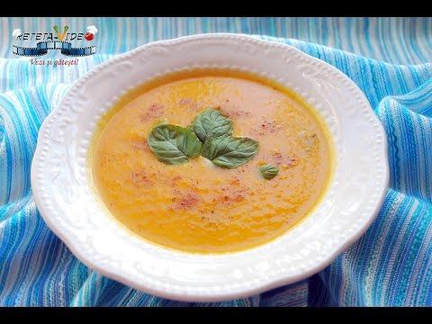 Supa Crema de Morcovi, Mere si Ghimbir