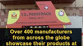 IPAMA gears up for PrintPack India 2019 - YouTube