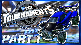 Almost AN INSANE 0 SECOND Goal To Win... - NEW Rocket League Tournaments | NRG GarrettG