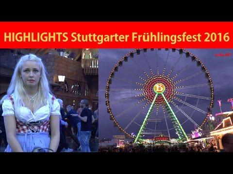 HIGHLIGHTS Stuttgarter Frühlingsfest Wasen Stuttgart 2016 - BEST OF Stuttgart Spring Festival