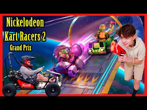 THE BIG RACE | NICKELODEON KART RACERS 2 | D&D SQUAD |