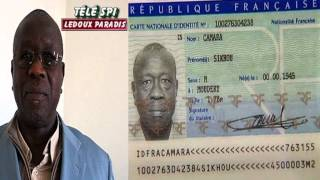 Sikhou Camara la France veut lui retirer sa nationalité après 33 ans Télé SPI