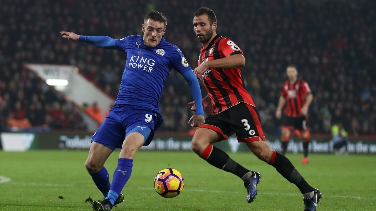 AFC Bournemouth VS Leicester City 1-0 [highlights and goals] - YouTube