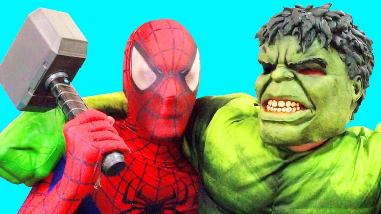 Grey Hulk And Captain America    Hulk & Captain America Fight Funny Game