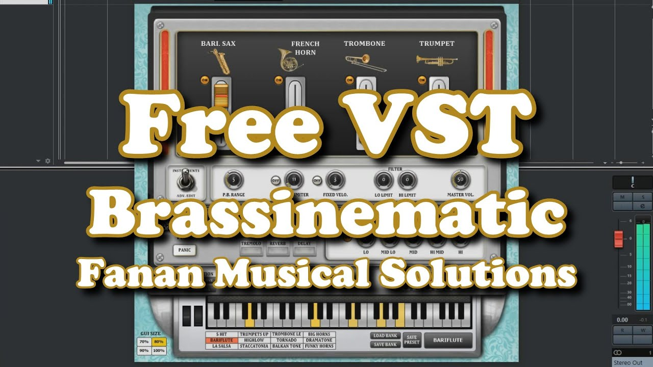 Free VST - Brassinematic