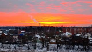 Утро над Москвой сегодня 08.02.2019