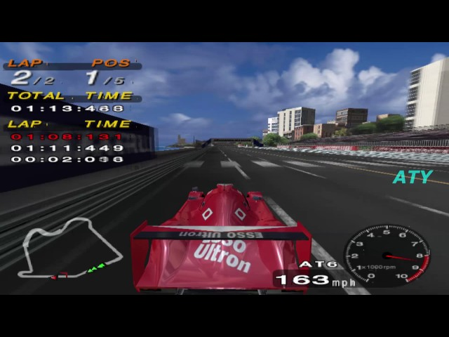 Driving Emotion Type-S Toyota GT-One (TS020) Gameplay West Coast PCSX2