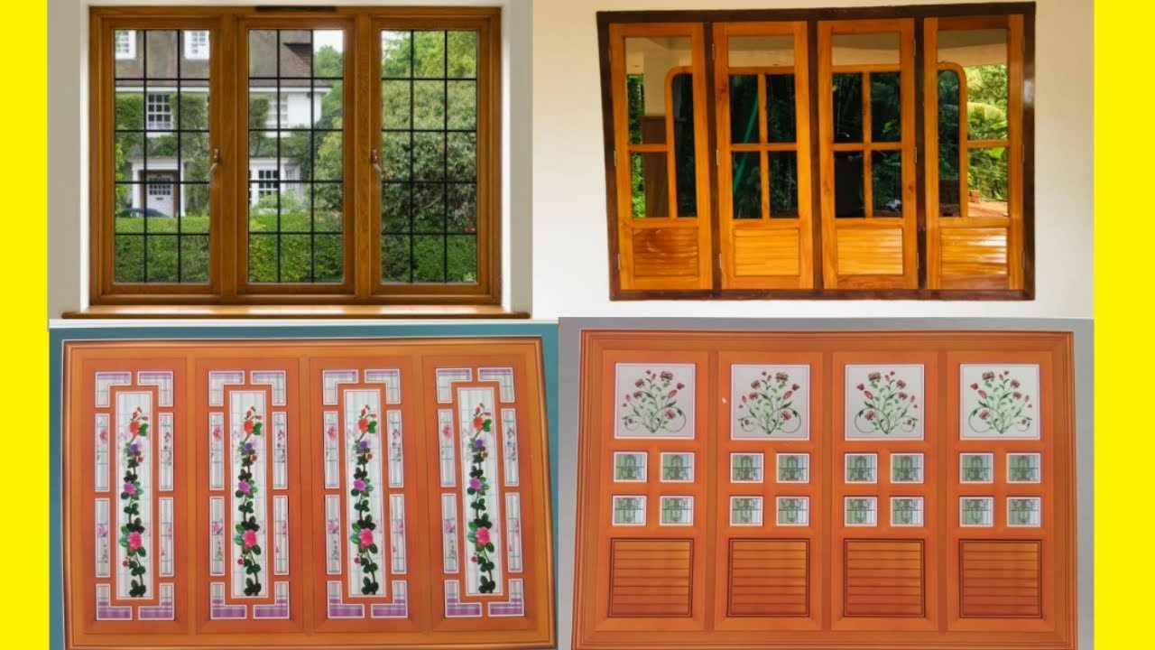 Top 12 Window Designs for House   Modern Wooden Window Design in India