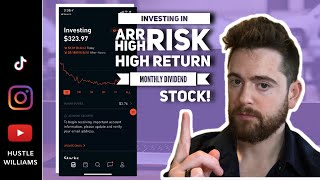 2020 High Risk Stock With High Monthly Dividend Yield 10.74% Robinhood Investing Challenge