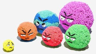 Foam Clay Planets Play Doh Kinetic Sand Disney Learn Colors For Kids