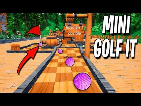 MINI-GOLF IT a TAMAÑO REAL