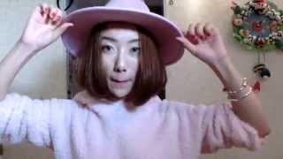 「西西」自己吹出發廊級韓式短發+我的帽子日記 微博:Pinky_Sisi Thumbnail
