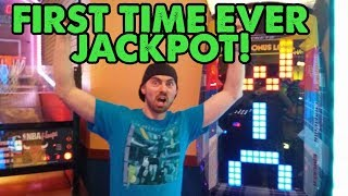 My First Time Ever Getting This Arcade Jackpot! Spare Time Arcade ArcadeJackpotPro