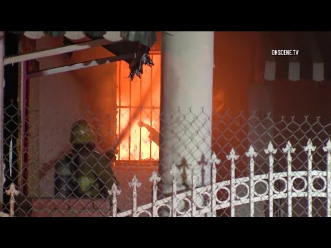 El Monte House Fire