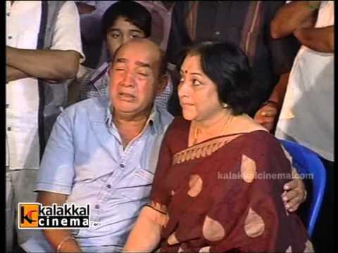 Stars Paying Homage To Manjula Vijayakumar Clip 1