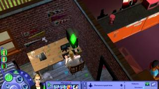 игра Давайте играть в Sims 2 часть 1-здравствуй универ
