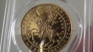 アンティークコイン ハンガリー1929年試鋳貨100ペンゲー PCGS SP64