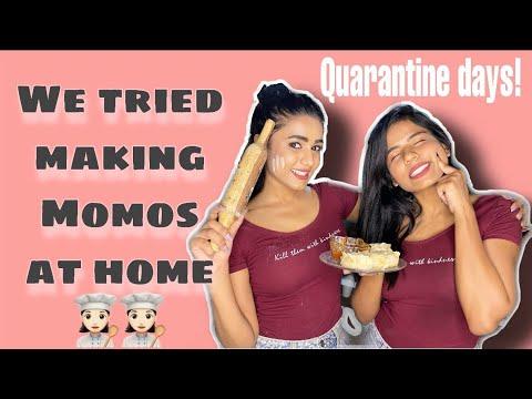 Cooking Momos At Home💁♀️|| Rugima | Gimaashi | Rugees