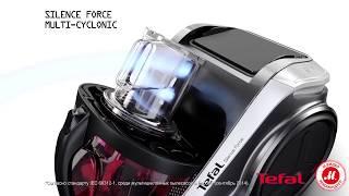 Превосходное качество уборки с тихим пылесосом Tefal Silence Force TW83