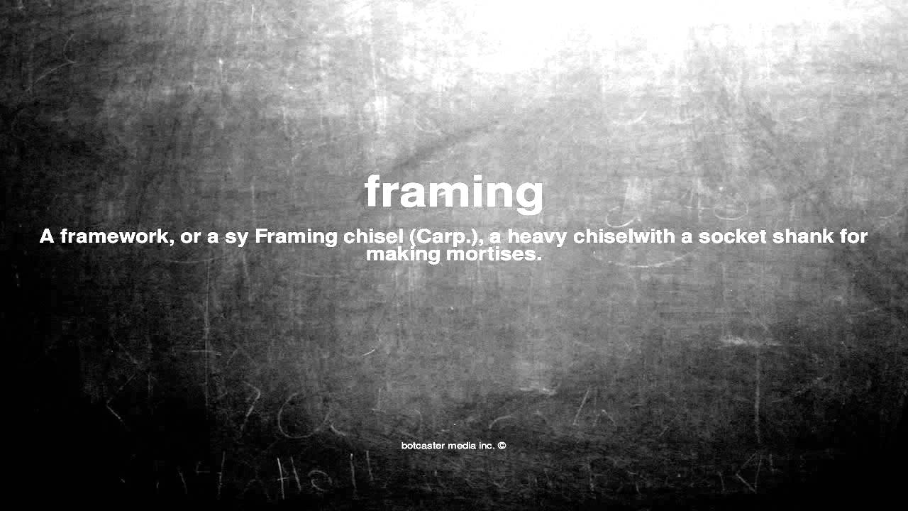 Outstanding What Does Framing Mean Collection - Framed Art Ideas ...