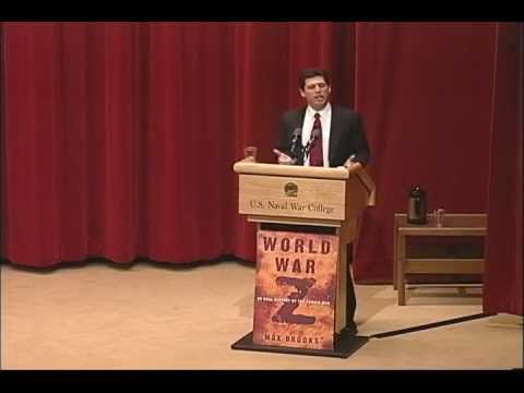 Lecture of Opportunity | Max Brooks: World War Z