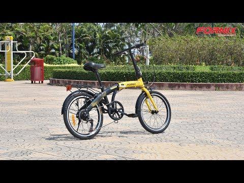 Đánh giá xe đạp gấp Fornix Prava
