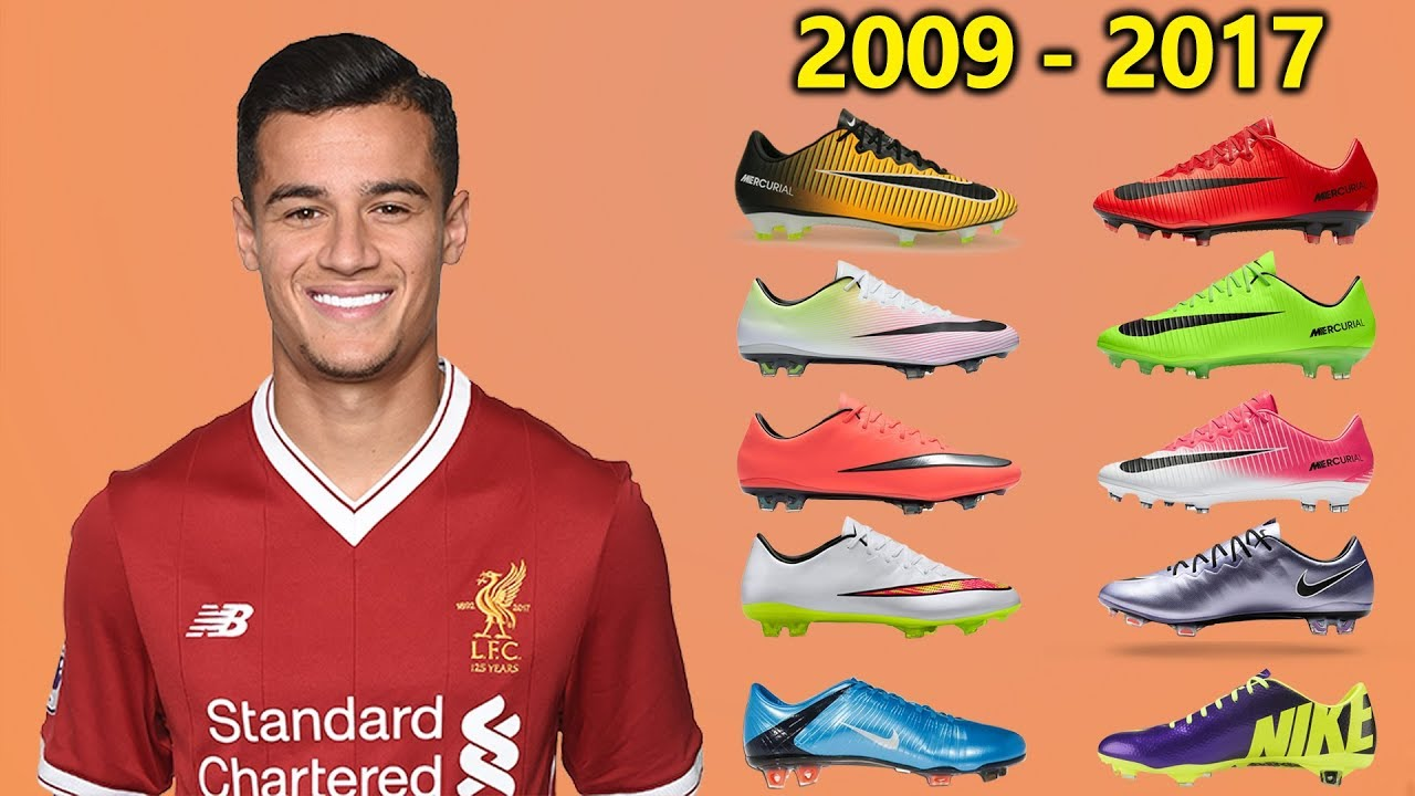 66f2cc1cd9d Philippe Coutinho - New Soccer Cleats   All Football Boots 2009-2017 ...