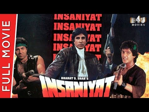 Insaniyat | Full Hindi Movie | Amitabh Bachchan, Sunny Deol, Raveena Tandon | Full HD 1080p