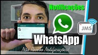 AS NOTIFICAÇÕES DO WhatsApp