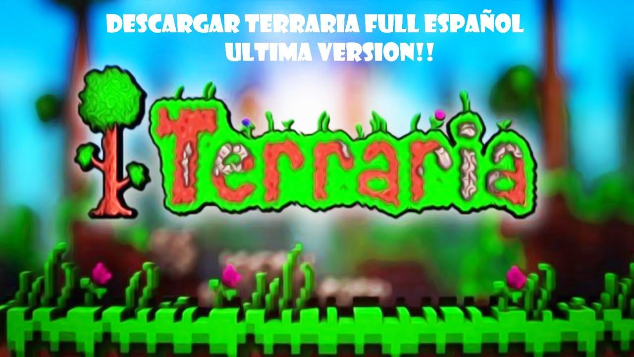 COMO DESCARGAR TERRARIA PARA ANDROID ULTIMA VERSION - YouTube