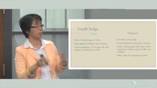 Youth Bulge in Asia: Population, Gender & Migration.  Glenda Tiba Bonifacio