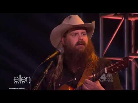 "Chris Stapleton performs ""Millionaire"" on Ellen"