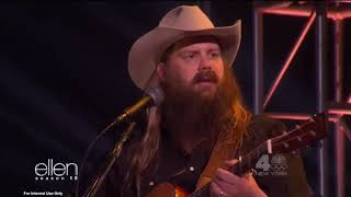 "Chris Stapleton performs ""Millionaire"" on Ellen Video"