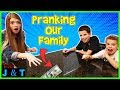 Pranking Our Family / Jake and Ty