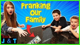 Prank Week! - Pranking Our Family / Jake and Ty