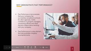 How To Demonstrate Past Performance
