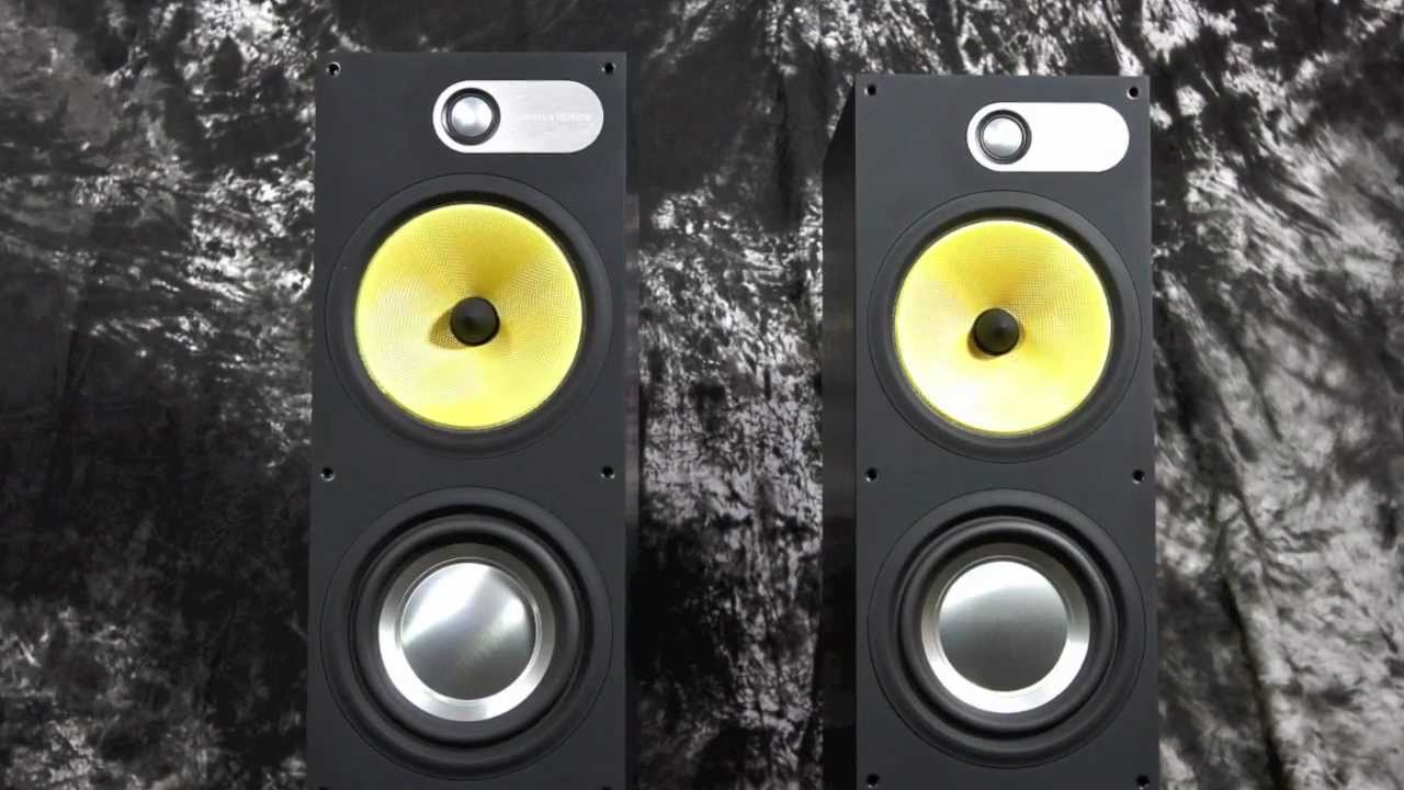 Bowers Wilkins Speakers >> Stereo Design B&W Bowers & Wilkins 683 Speakers in HD ...