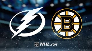 Bergeron gets three points in 4-2 win over Lightning