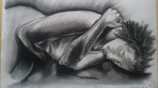 Speed Drawing - Nude (act)