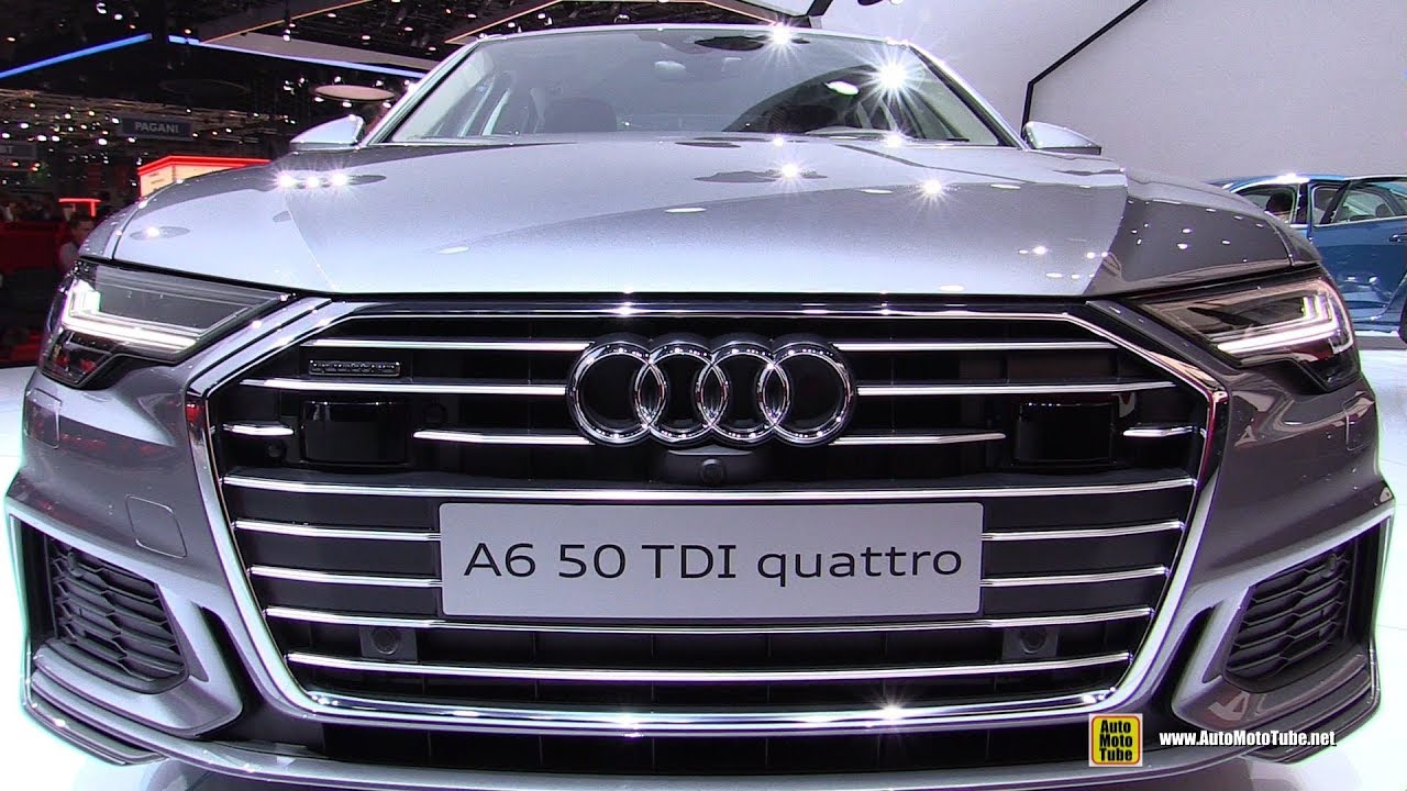 2019 Audi A6 50 Tdi Quattro Exterior And Interior Walkaround