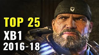 Top 25 Xbox One Games of 2016, 2017 & 2018