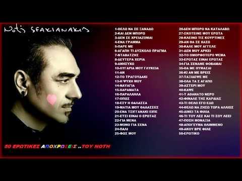 Notis Sfakianakis ❤ 50 ερωτικές αποχρώσεις του ..Νότη ❤ (Non Stop Mix 2015)